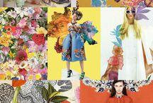 Pattern & colours