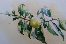 Works by Evan Jones / #art#painting #watercolor #oil #fineart