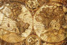 Stare mapy, pergaminy, dokumenty, marynistyczne