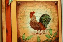 Chickens and Roosters / cards