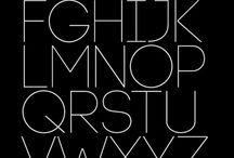 Letters & Fonts // Inspo