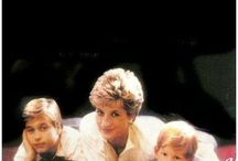 Diana, William, Harry