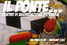 Il Ponte / IL PONTE è un Centro di Aggregazione Giovanile aperto a tutti i ragazzi e le ragazze dai 10 ai 16 anni dove puoi trovare: - uno SPAZIO COMPITI - un'AREA GIOCHI  - una SALA MUSICA