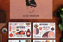 TELEGRAMME X GIZZI ERSKINE RECIPE GREETINGS CARDS