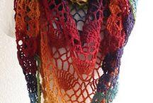 Crochet Shawl, Scraft
