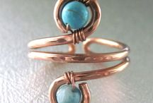 Ring and brass wire