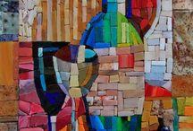 billeder mosaik