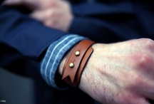 mens leather cuff jewellery