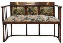 Art Nouveau furniture and others - szecessziós bútorok és egyebek