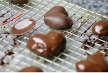Çilekli çikolata