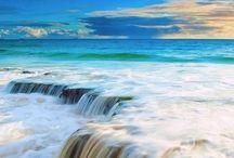 fina bilder på vatten hav