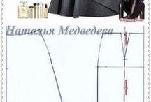 Střihy-sukně