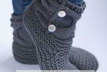 Knitting - for feet