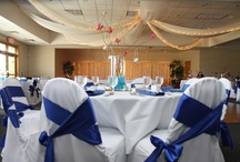 Reception Ballroom / Wedding receptions held at Stone Ridge Golf Club in Bowling Green, OH.