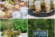 Esküvői bár előételekkel&italokkal
