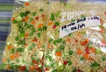 Freezer Meals / Things to make ahead