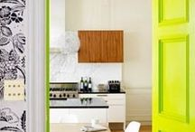Pantone 'Lime Punch' / A collection of inspiration images featuring the 2018 color trend, Pantone 'Lime Punch'...