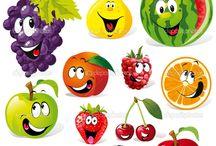 Képek: gyümölcs, bogár