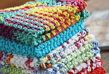 dishcloths knit and crochet