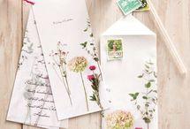 Lettres et enveloppes