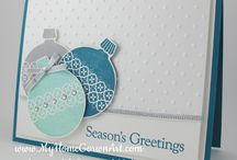 Stampin' Up! - Ornament Keepsakes / by Kim Miller