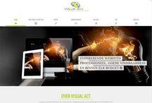 Visual act websites