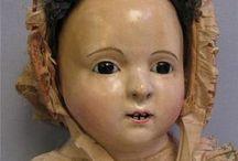 Antique dolls - Papier Mache