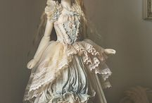 Fashion & Dolls / Beautiful fashion through the years, whether on dolls, or humans. Ball jointed dolls are amazing.