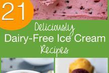 dairy free ice cream  no machine