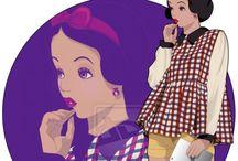 Princesse Disney stylé
