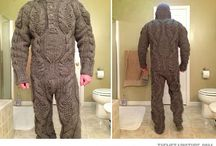 Fully knitted suit