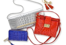 #BrahminSummerStyle / Board for outfits to take to BlogHer13 paired with Brahmin purses I own or WISH I owned. :-)