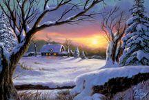 zimní-krajina