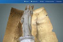 Modelos 3D para obras artísticas /  3D models for artistic works