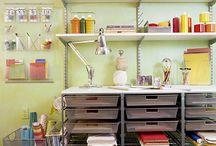 craft room / by Doreen McGauvran