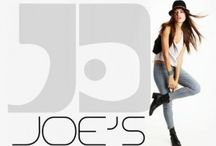 Joe's Jeans /    Los Angeles-based JOE'S® was created in 2001 by founder and creative director, Joe Dahan.  JOE'S® is a casual chic lifestyle brand synonymous with classic, modernized wardrobe staples. The brand offers a versatile range of timeless styles from premium denim to handcrafted collection pieces and contemporary accessories to footwear.