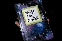 """Wreck this journal"" - ideas ;)"