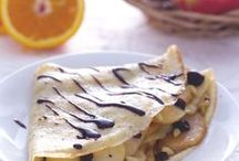 crepes di torta di mele
