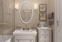Ванная-душевая-санузел дизайн
