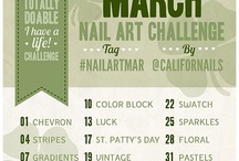 IG Nail Art Challenge - March 2013