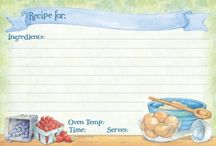 Reseptikortit/Recipe cards