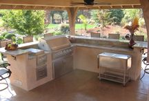 OUT DOOR KITCHEN / Ideas for out door kitchens