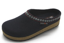 Haflinger Slippers / Haflinger slippers are from Germany. Known for their boiled wool Haflingers are long lasting and will keep your feet at the ideal temperature for longer. All Haflinger slippers have great arch support, and will outlast most slippers.