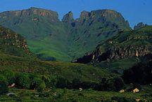 Injisuthi, uKhahlamba-Drakensberg Park / My favourite place on earth - Injisuthi (meaning The Valley of the Well Fed Dog) Camp in the Drakensberg Mountains.
