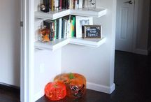 shelf for books kitchen
