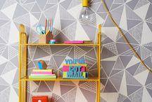 Bedrooms / Wallpaper