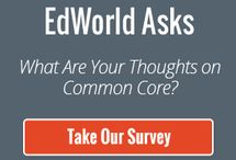 Surveys / Surveys Education World is conducting. Share your opinion! / by Education World