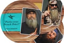 Duck Dynasty Party Ideas / Our Duck Dynasty party ideas board is your destination for everything Duck Dynasty party supplies and simple ideas and recipes for a Duck Dynasty party.