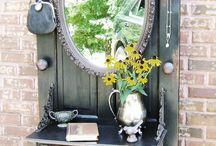 Architectural Salvage Decor Ideas / Decorating with salvage