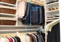 clothes closet organization